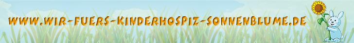 Unterstützung für den Kinderhospizdienst Sonnenblume & Sungura mit der Sonnenblume